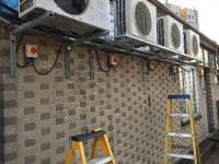 16 amp air-con supplies installation