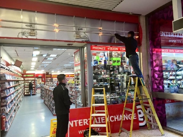 CEX Luton install by our electricians