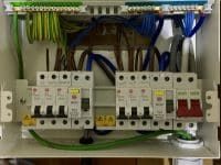 Consumer unit from rewire in by our electricians in Stevenage