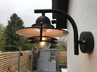 Garden lighting by our electricians in Stevenage