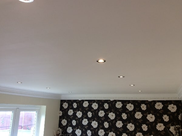 LED down lights fitted in Bandley rise,Stevenage.