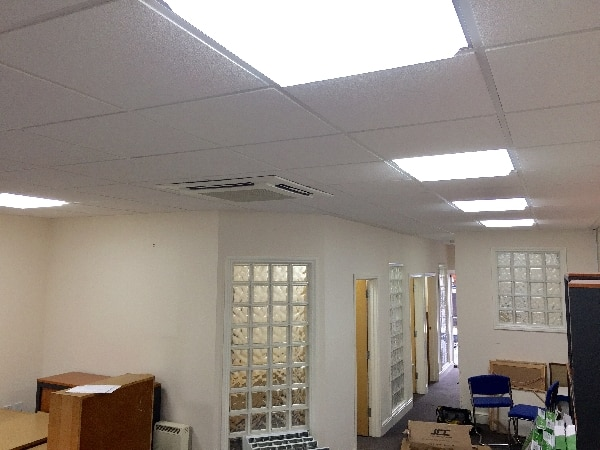 Led lighting installation