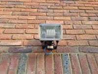 Low energy security lighting installed in welwyn.
