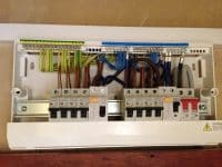 New consumer unit installed at a Rewire in Hertford.