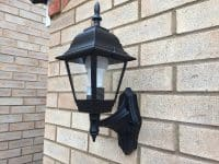 New garden lighting by our electricians in Stevenage