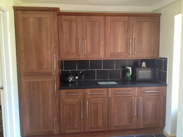 New kitchen ring installed by our electricians in Stevenage.