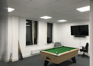 Office lighting in Stevenage for trustatrader