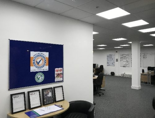 Office Lighting Installation for Trustatrader in Stevenage