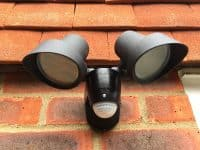 Security lighting installation by our electricians in Stevenage