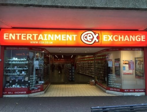 Sign Lighting Install for CEX Bedford