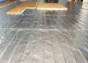 Under floor heating installed by our electricians in welwyn garden city.