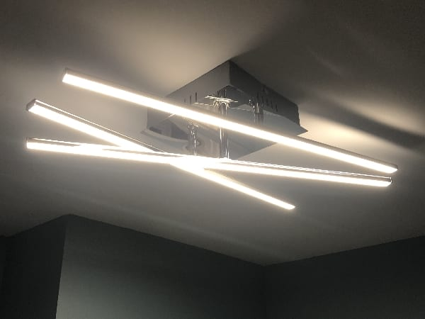 We can install your own light fittings