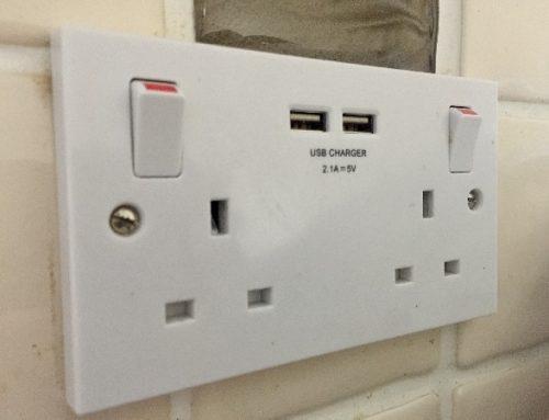 We Install USB Sockets