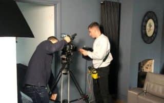 Herts Electrician Trustatrader filming
